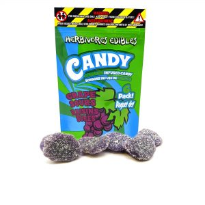 Herbivores Edibles Grape Sours