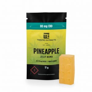 Pineapple CBD Jelly Bomb UK